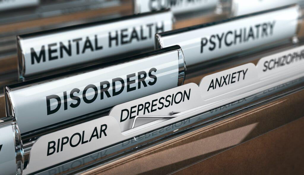 Fichero de trastornos mentales